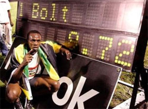 Wereldrecord op 100 meter voor Usain Bolt