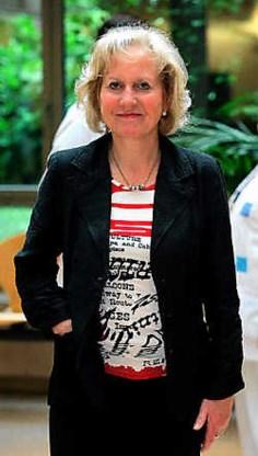 Brigitte Grouwels: 'We moeten absoluut meer Vlaamse artsen in Brussel krijgen.' Jennifer Jacquemart