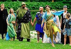 Rare snuiters in het Liedtspark. Aan elk Sprookjesbos werken ruim honderd acteurs mee. David Stockman<br>