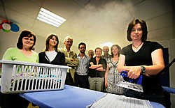 Het werkgelegenheidskantoor heeft nu ook een strijkdienst. Grégoire De Poorter