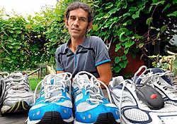 Geert Stalpaert is er klaar voor. Tijdens de Nacht van Vlaanderen trekt hij zijn sportschoenen aan voor een loopparcours van maar liefst honderd kilometer voor het goede doel. Yvan <br>De Saedeleer