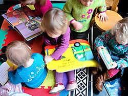 Kinderen houden van boeken, maar er zijn er zo veel. if