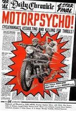 'Motorpsycho' gaat over een bende op hol geslagen motorrijders. if