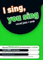 'I sing, you sing' is een gevarieerd koorprogramma. if