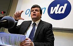 Open VLD-voorzitter Bart Somers doet 'haalbare voorstellen voor een belastingverlaging, met communautair geven en nemen.' photo news<br>