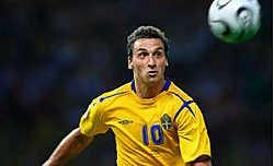 Met Zlatan Ibrahimovic (foto), Henrik Larsson en Johan Elmander beschikt Zweden over flink wat aanvallende troeven.epa<br>