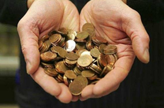 Man betaalt Electrabel met 215 kilogram eurocentjes