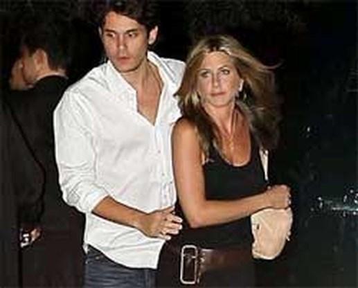 John Mayer openhartig over breuk met Jennifer Aniston