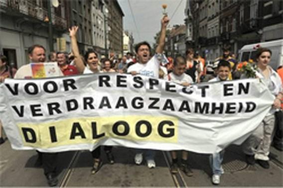 Mama's op straat tegen geweld in Anderlecht