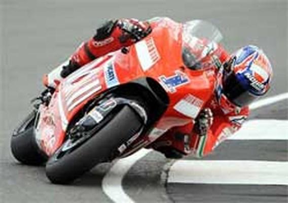 Casey Stoner is beste in MotoGP
