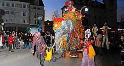 Bollywood door Franse Collectief Corbo wordt de apotheose op Zomer 08. ingezonden foto
