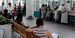 Het verbod slaat op de loket- en baliemedewerk(st)er, zoals in het Administratief Centrum aan de Zuid.gia
