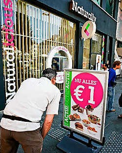Superkoopjes moeten de nieuwe restaurantketen lanceren. Wim Daneels<br>