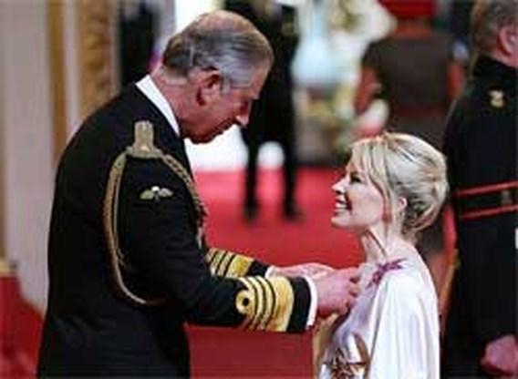 Kylie Minogue door Queen gehuldigd