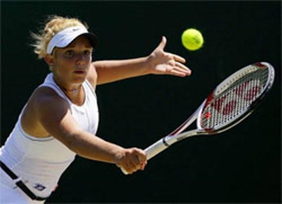 Juniore Tamaryn Hendler in halve finales Wimbledon
