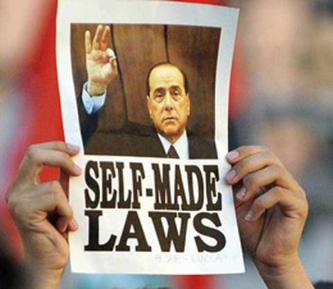 Immuniteit Berlusconi is een feit
