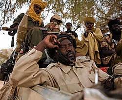 De SLA-Unityrebellen (foto in Birmaza) controleren veel plattelandsgebieden in Noord-Darfour.Jan-Joseph Stok