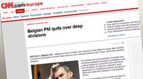 Leterme haalt hoofdpunten buitenlands nieuws
