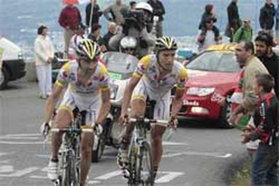 'Nog een renner van Saunier Duval betrapt'