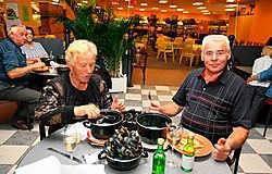 'De mosseldagen willen we voor geen geld missen', zegt de familie Van Aerschot. Louis Verbraeken