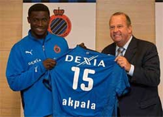 Club Brugge strikt topscorer Akpala