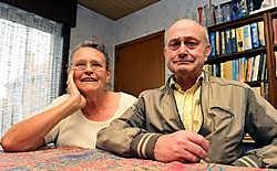 Maria Ooghe nam Paul Degroote in huis, zeer tegen de zin van de familie van de garagist op rust.<br> Frank Meurisse