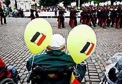 Leerlingen van de Koninklijke Militaire School in vol ornaat. wdk<br>