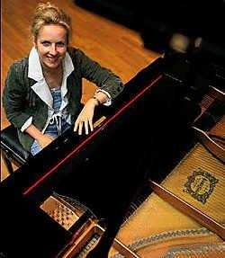 Katia Veekmans doceert volgende week een internationale meesterklas voor conservatoriumstudenten. Mine Dalemans<br>