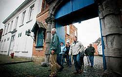 De oude pastorie naast de begijnhofingang in Lier wordt de spil van het nieuwe VRT-feuilleton. Inge Van den Heuvel