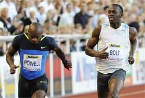 Powell honderdste sneller dan Bolt
