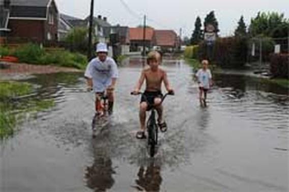 Weer felle onweersbuien in Limburg