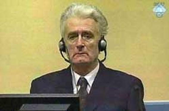 Karadzic heeft geen hoop op eerlijk proces