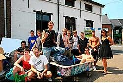 De KAJ van Steenhuffel staat volgend jaar op straat. De zoektocht naar een nieuwe locatie wordt met de dag dringender.Koen Merens