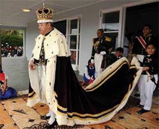 Nieuwe koning Tonga gekroond