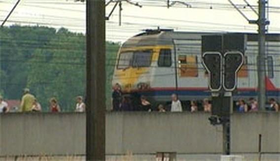 Vertraging op spoorlijn Brussel-Leuven voorbij