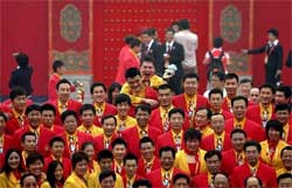 Recordaantal atleten neemt deel in Peking