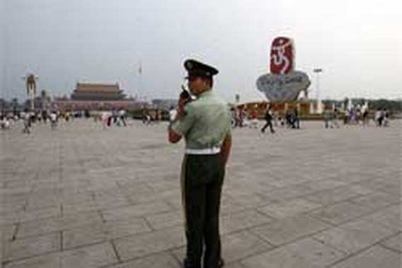 China controleert buitenlandse media op Tiananmen-plein