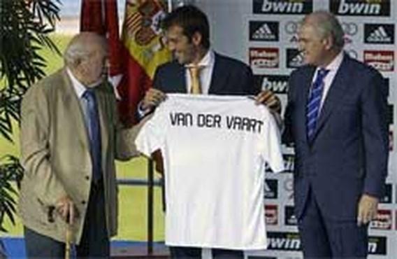 Real Madrid koopt deze zomer alleen Rafael van der Vaart