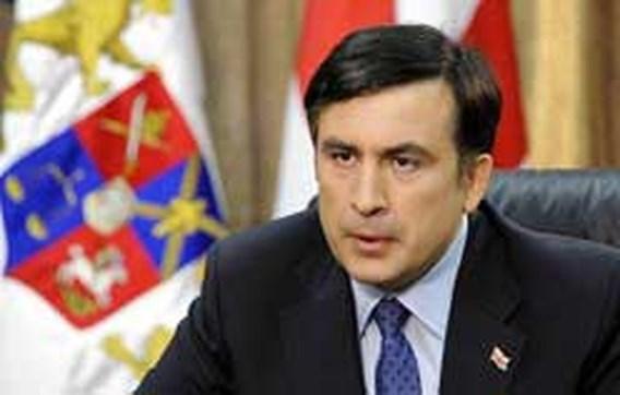 'Poetin sprak over ophangen Georgische president'