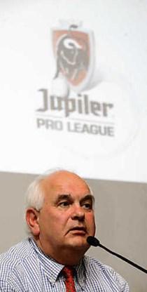 Ivan De Witte, tot gisteren voorzitter van de Profliga, vanaf nu de Pro League.photo news<br>