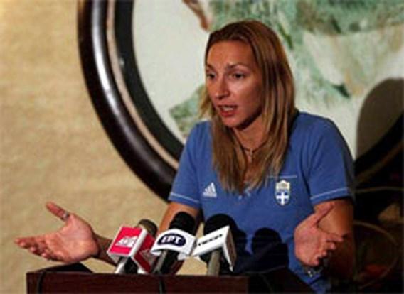 OS Atletiek: Fani Chalkia moet de Spelen verlaten