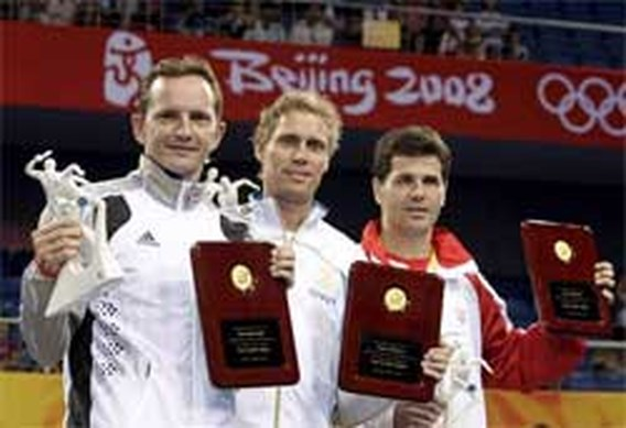 OS Tafeltennis: Jean-Michel Saive gehuldigd