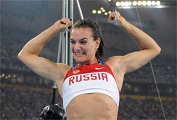 Isinbayeva kan nog hoger