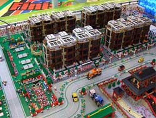 Legolympics: de Olympische Spelen in Lego