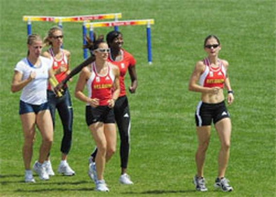 OS Atletiek: Estafettedames focussen op BR