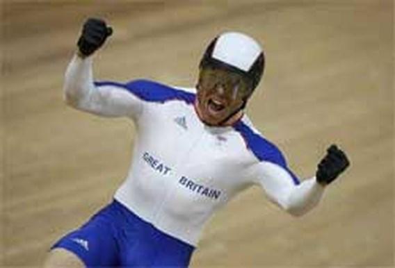 OS Baanwielrennen: Derde titel voor Chris Hoy