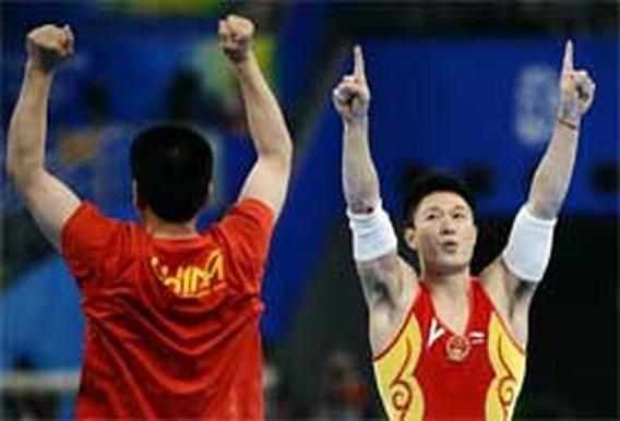 OS Gymnastiek: Chinees Li Xiaopeng pakt goud op de brug