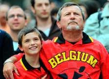 Serge en <br>Alex Bonté kennen de Brabançonne. hrb<br>