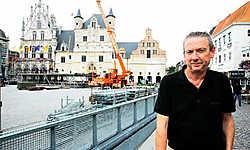 Jef Van Dun: 'Ik zou ook graag eens gewoon genieten van de optredens.'Eddy Van Ranst<br>