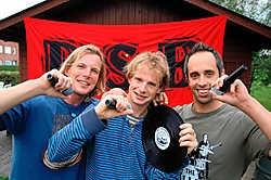 Koen Darras, Francis Vandermeersch en Jurgen Vierstraete maken vrijdag hun podiumdebuut. Michel Vanneuville<br>